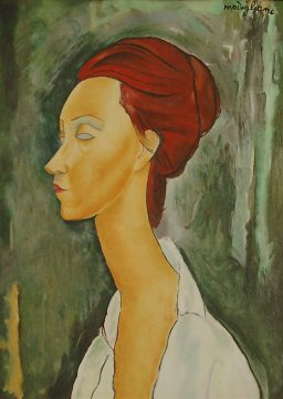 Amedeo Modigliani - Lunia Czechowska portrait